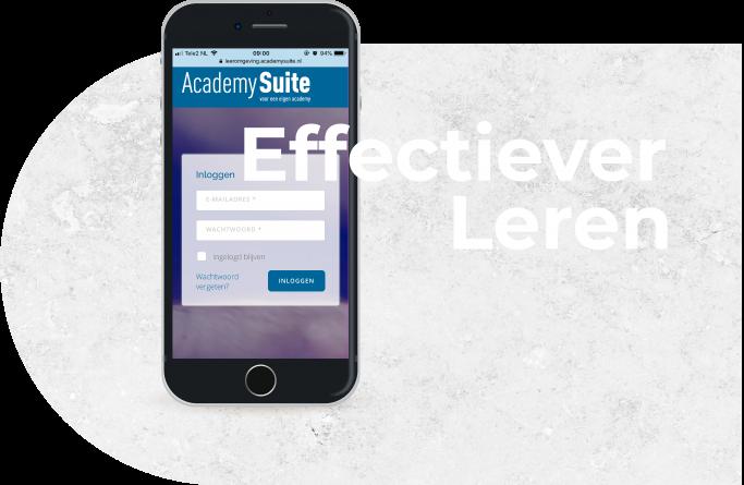 Effectiever leren bij AcademySuite